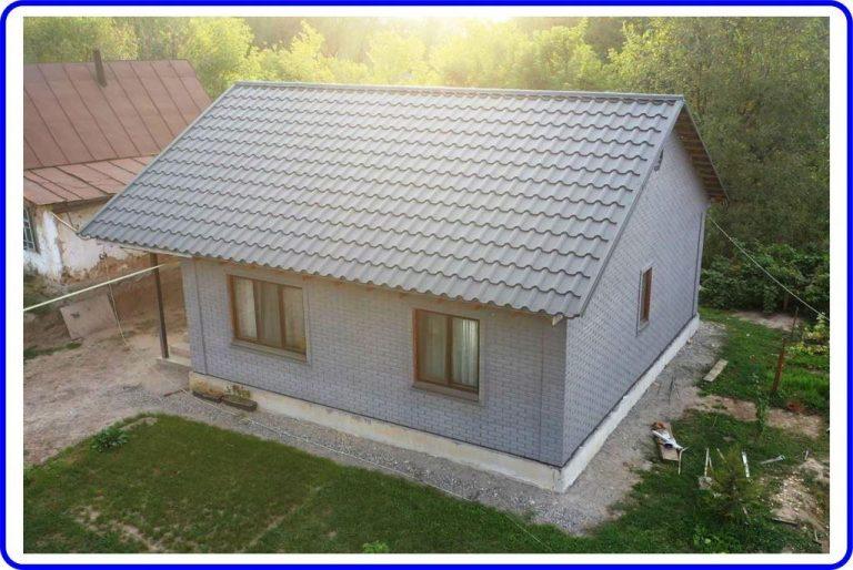 Дом из СИП-панелей в Талгаре