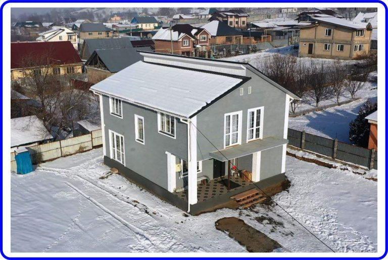 Коттедж из СИП-панелей 188 кв.м в посёлке Рыскулово
