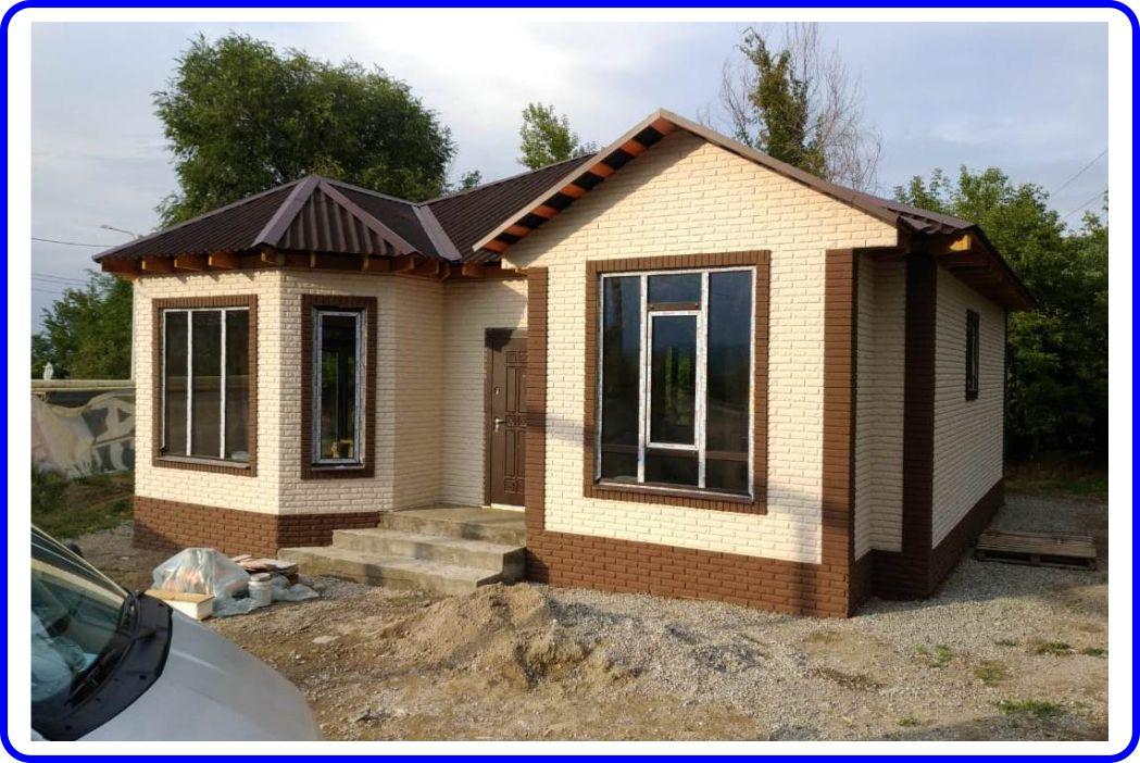 Индивидуальный жилой дом 96 кв.м по проекту FH-19-96 (объект сдан 30.06.2020 г.)