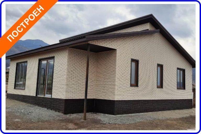 Индивидуальный жилой дом из СИП-панелей вблизи Талгара