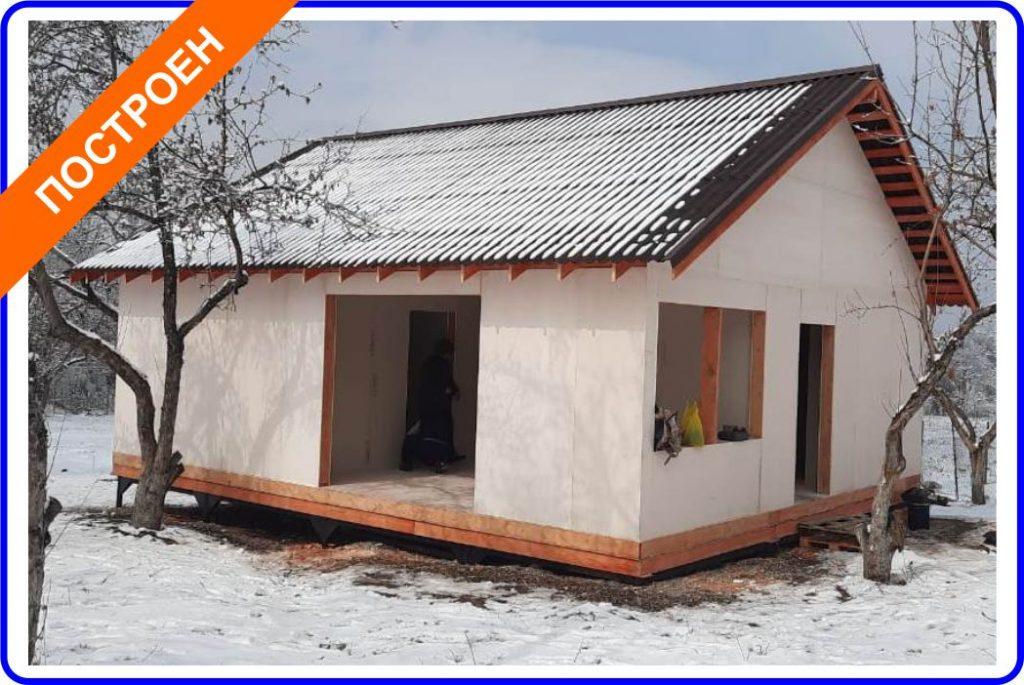 Read more about the article Сторожевой дом из СИП-панелей вблизи Талгара